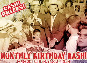 Click here to learn more about the Honky Tonk Birthday Bash!